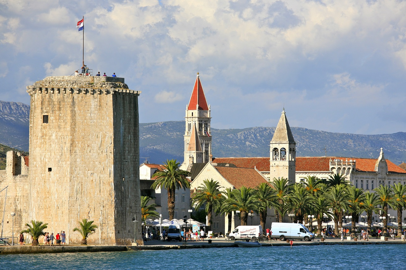 City of Trogir and the Tower of the Kamerlengo Castle 5975489212
